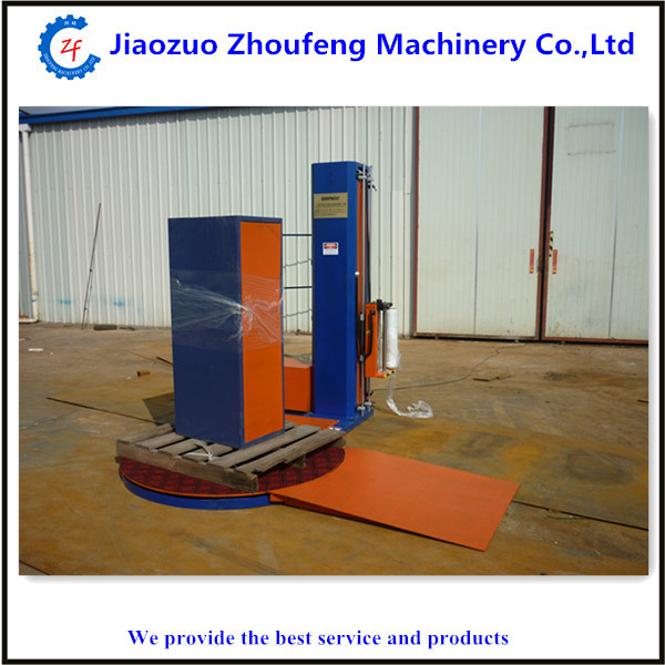 Automatic pallet stretch wrapping machine goods packing film machine pallet wrapper