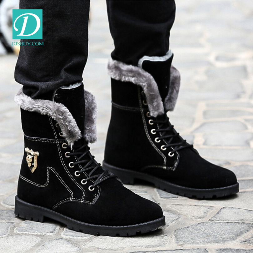 Free Shipping New Design Korean Shoes Man Warm Winter Fashion <strong>Boots</strong>