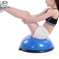 Alibaba express Wholesale balance exercise gym pilates yoga half balance bosu ball