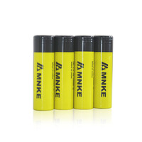 Original MNKE 2500mah 3.7V 18650 rechargeable Lithium Battery