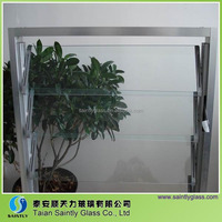 4mm tempered window glass with ISO9001 and CCC certification