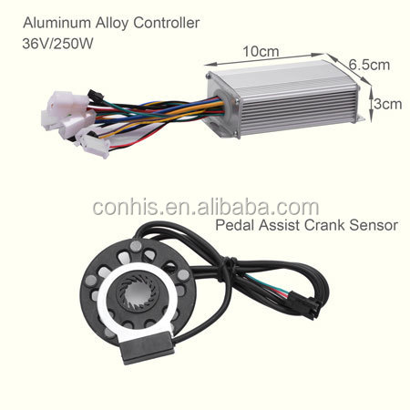 36V 250W electric bike front kit