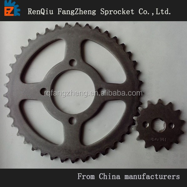 CD70 Motorcycle Chain and Sprocket SET,