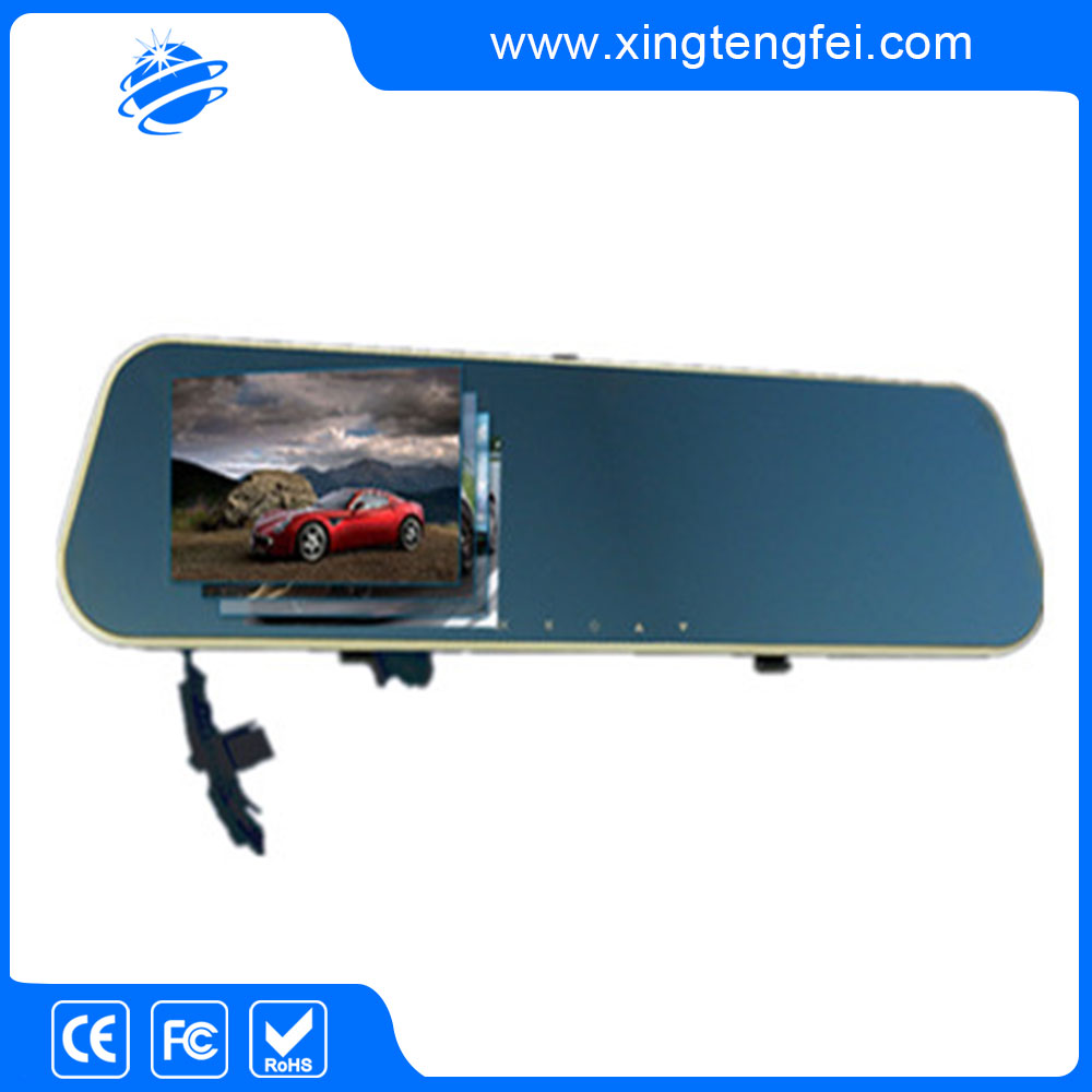 best selling night-vision car dvr rearview mirror with certificate