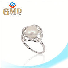 Light weight gold jewellery fashion 925 silver jewelry 1 gram gold ring