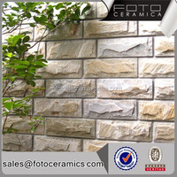 Exterior wall panel decoration mushroom stone