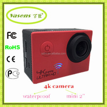 New Product Novetak96660 Waterproof Video Camera 4K Sport Cam