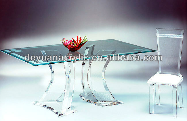 Custom Acrylic Furniture/Riving Room Acrylic Table