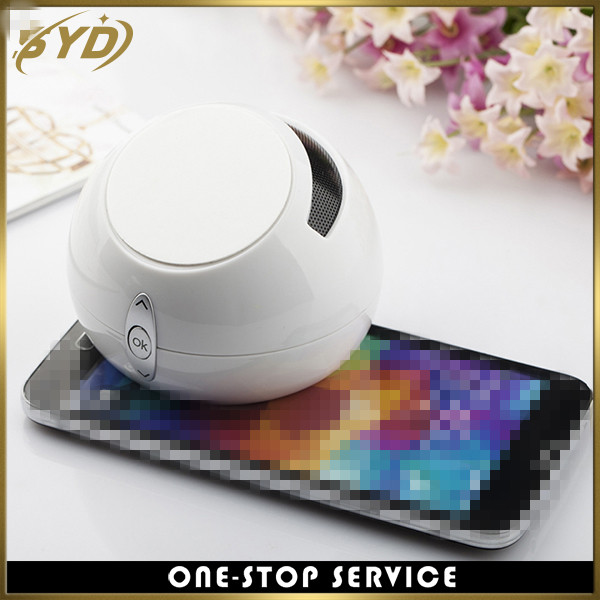 Creative design mobile holder wireless speaker mini holder portable speaker