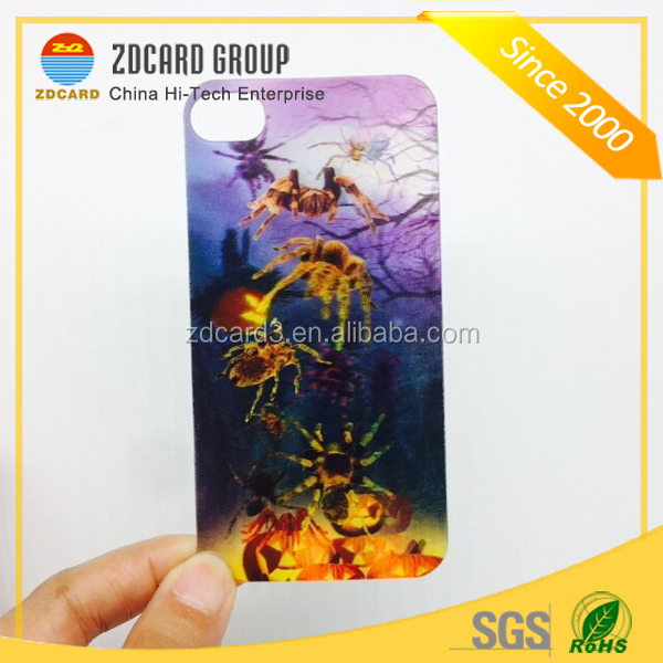 High Quality Custom Lenticular 3d phone Case