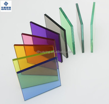 Dalian factory offer high quality tinted laminated glass China alibaba