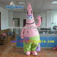 Top quality hand make patrick star mascot costume