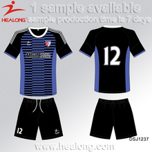 Free Sample Wholesale Sports Blank No Logo Soccer Jersey
