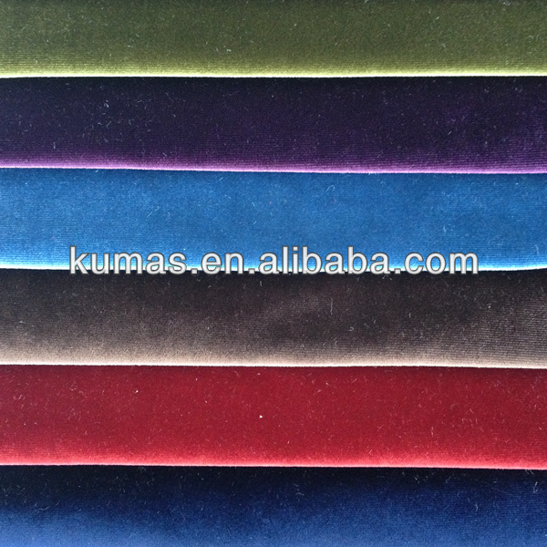 knitted velvet stage decoration backdrop fabric