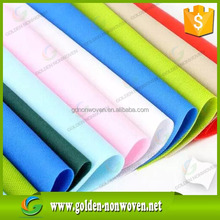 Short width and small roll nonwoven pp spunbond non-woven fabric rolls/quanzhou golden nonwoven factory polypropylene non wovens