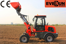 China Supplier Qingdao Everun ER10 Mini Wheel Loader With 12-16.00 Tyre For Sale