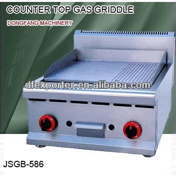 ceramic griddle, JSGB-586 counter top gas griddle