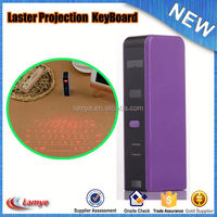 gift for ipad/iphone USB Cable mini projection virtual laser keyboard bluetooth