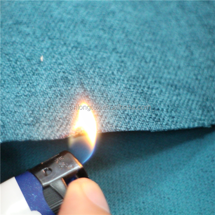 Technical polyester fabric waterproof/ Flame retardant for sofa upholstery