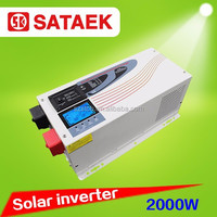 LCD grid tie solar inverter with built in charger 2kw to 6kw 220v230v