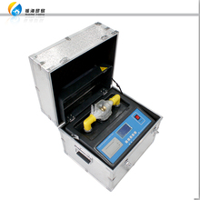 HZJQ Series Automatic Oil Cup Structure Transformer High Voltage Oil breakdown voltage test oil BDV test set