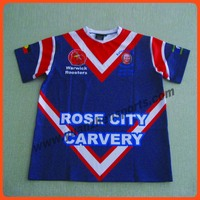 custom sublimation rugby jersey as your artwork