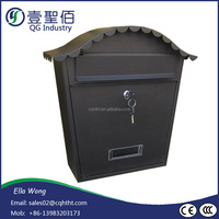Chinese manufactory Waterproof Antique Aluminum Post Office Box hot on sale