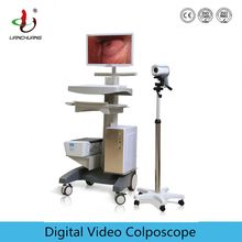 Vagina video colposcope system with English software
