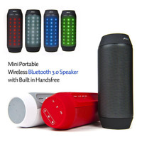 Portable mini digital fm radio portable speaker with usb port and TF card funtion
