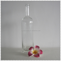 Glass soy milk bottle amphora glass bottles