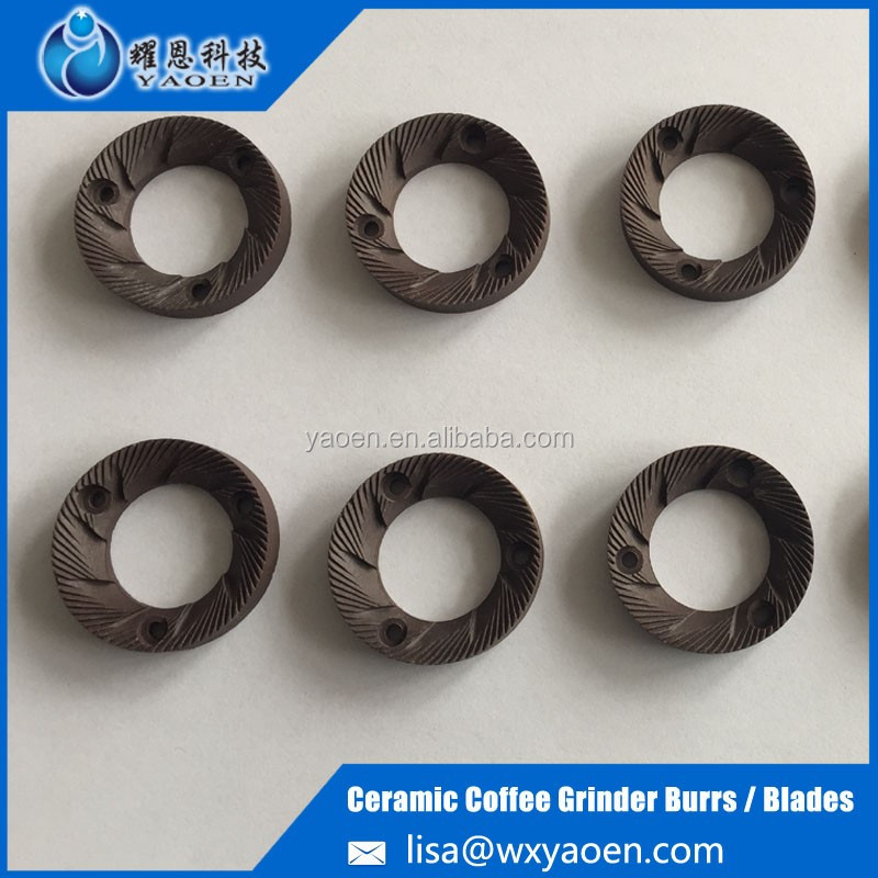 High quality ceramic grinding burr for coffee machine