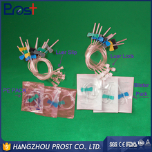 2017 China Supplier infusion medical single winged scalp vein ven needle for medical supply