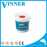China disinfection wipe manufacturer, 220 counts refill rolls