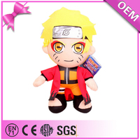 Plush Japanese Cartoon Famous Character Naruto Plush Doll For Sale
