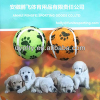 Table tennis ball for dog toys in standard size 2.5inch