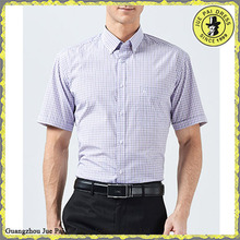 Tall Fitted Short Sleeves Modern Mens Dress Shirt And Pants