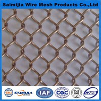 Good quality Cheapest hot sale fancy metal mesh curtain
