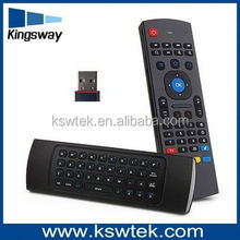 2.4G Android TV Box Remote Control MX3 Air mouse Mini Wireless Keyboard 3D Air Fly Mouse