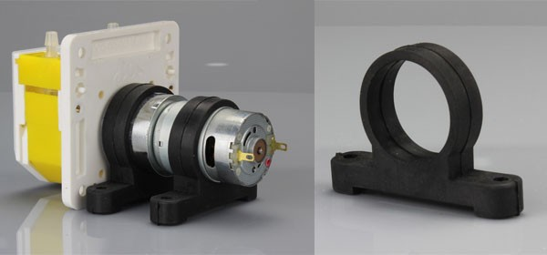 JIHPUMP OEM peristaltic pump quick install panel type of flow rate less than 200ml/min