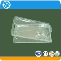 Clamshell packaging, clear small transparent pencil plastic case