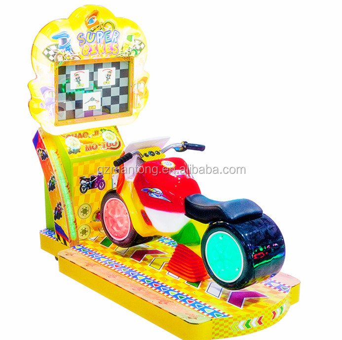 kids ride racing moto for game centre mother like it make children happy