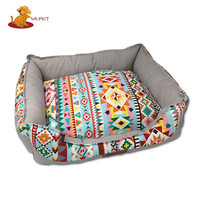 Hot Guaranteed Quality Bohemian Style Soft Pet Bed For Dog