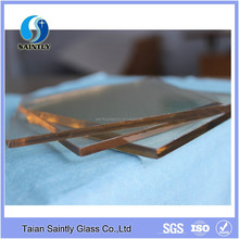 High temperature fireplace door use 4 mm ceramic fireplace glass with safety quality