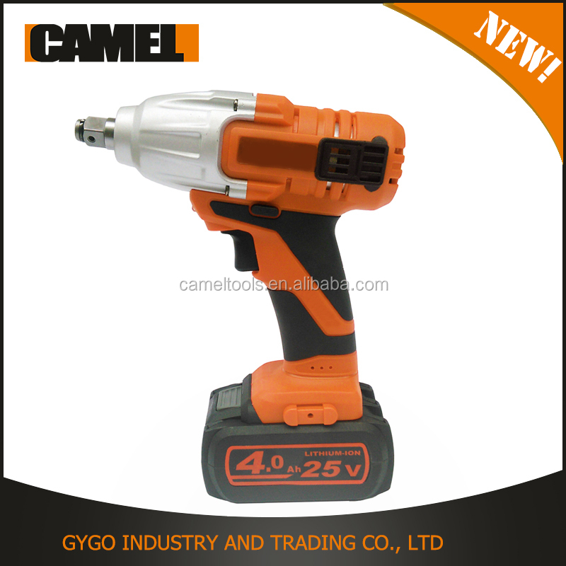 electric torque controlled impact wrench