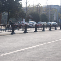 China makes the road barrier galvanized roadside guardrail road safety railing