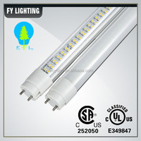 CSA approved high quality young tube 18w t8 led red tube xxx