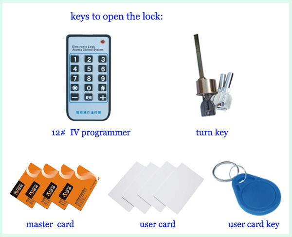 LY09BM8B1 IC card cylinder key-lock rental house home hotel electronic door lock