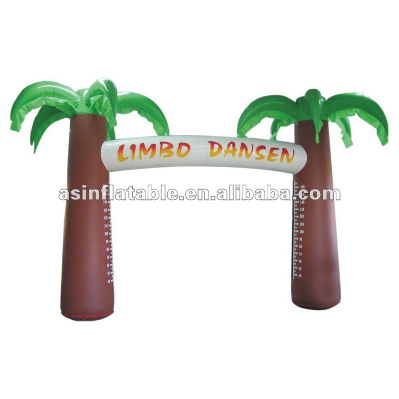 best seller beautiful entrance palm tree inflatable advertising arch for sale