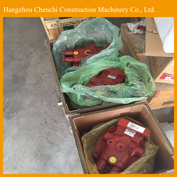 DH225-7 excavator hydraulic parts swing motor device reducer and motor in stock