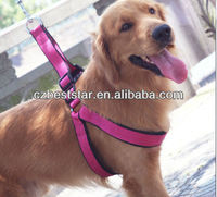 High quality foam padded nylon dog harness
